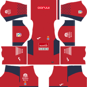 RCD Espanyol DLS Goalkeeper Away Kits 2017-18