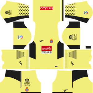 RCD Espanyol DLS Goalkeeper Third Kits 2017-18
