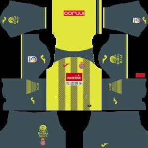 RCD Espanyol DLS Third Kits 2017-18