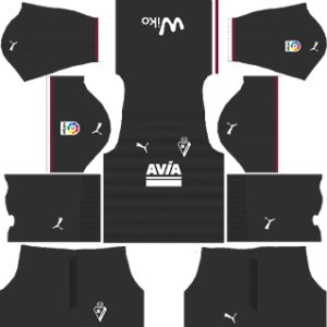SD Eibar DLS Away Kits 2017-2018