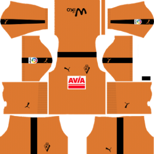 SD Eibar DLS Goalkeeper Home Kits 2017-2018