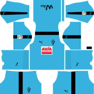 SD Eibar DLS Goalkeeper Third Kits 2017-2018