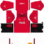 Urawa Red Diamonds Dream League Soccer Kits 2017/2018