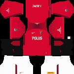 Urawa Red Diamonds Dream League Soccer Kits 2017/2018