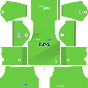 alaves 2017-18 goalkeeper away kit