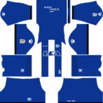 Deportivo Alaves Kits 2017/2018 Dream League Soccer