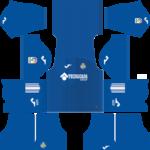 Getafe CF Kits 2017/2018 Dream League Soccer