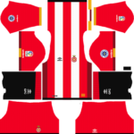 Girona FC Kits 2017/2018 Dream League Soccer