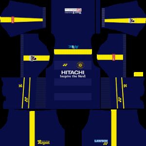 kashiwa reysol dls away kit 2017-2018