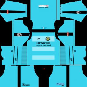 kashiwa reysol dls goalkeeper away kit 2017-2018