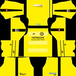 kashiwa reysol dls home kit 2017-2018