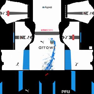 kawasaki frontale ACL dls away kit 2016-2017 (White)