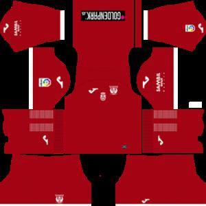 leganes 2017-18 goalkeeper away kit