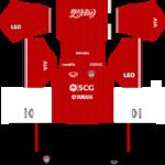 Muangthong United FC Kits 2016/2017 Dream League Soccer