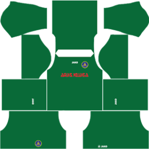 pahang dls goalkeeper home kit 2016-2017