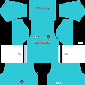 pahang fila dls goalkeeper away kit 2017-2018