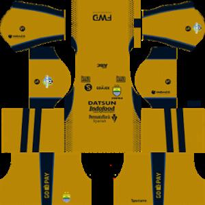 persib bandung fc dls away kit 2017-2018