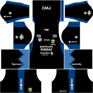 persib bandung fc dls goalkeeper third kit 2017-2018