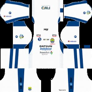 persib bandung fc dls third kit 2017-2018