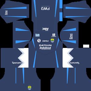 persib fc dls third kit 2016-2017