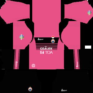 persija jakarta dls goalkeeper third kit 2017-2018
