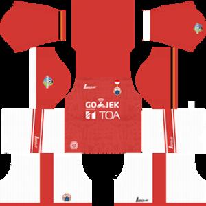 Persija Jakarta Dream League Soccer Kits 2017/2018