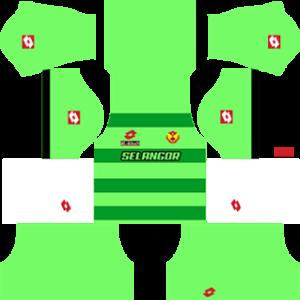 selangor dls goalkeeper away kit 2016-2017
