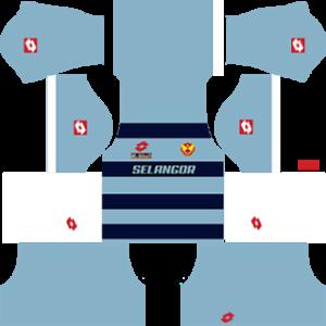 selangor dls goalkeeper home kit 2016-2017