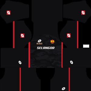 selangor dls third kit 2016-2017