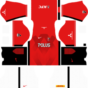 Urawa Red Diamonds FC Kits 2016/2017 Dream League Soccer