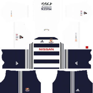 yokohama marinos away kit 2017-2018 dream league soccer