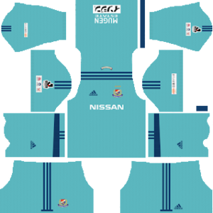 yokohama marinos goalkeeper away kit 2017-2018 dream league soccer