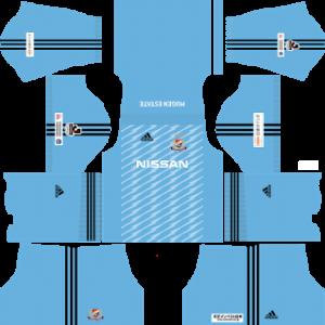 yokohama marinos kit dls goalkeeeper away 2016-2017