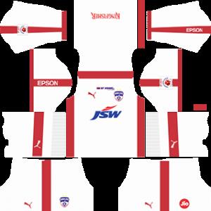 Bengaluru FC Kits 2017 2018 Dream League Soccer 7cb826553