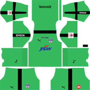 Bengaluru DLS Goalkeeper Away Kit 2017-2018