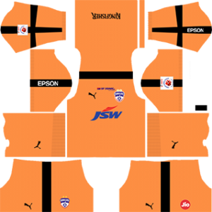 Bengaluru DLS Goalkeeper Home Kit 2017-2018