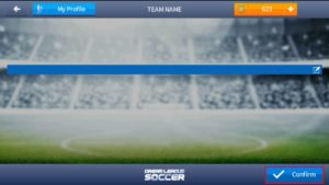Click on confirm dream league soccer