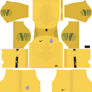 England Goalkeeper Home Kit World Cup 2018