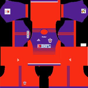 FC Pune City Kits 2016/2017 Dream League Soccer