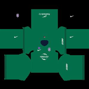 Johor Darul Takzim Special dls goalkeeper home kit 2016-2017