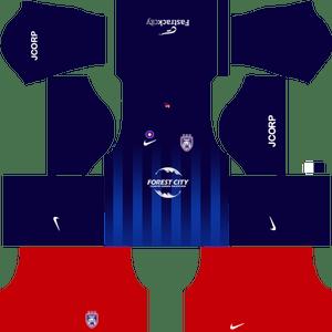Johor Darul Takzim dls away kit 2017-2018
