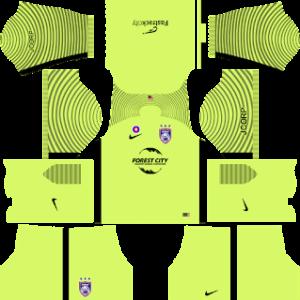 Johor Darul Takzim dls goalkeeper away kit 2017-2018