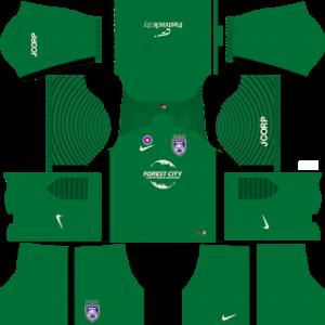 Johor Darul Takzim dls goalkeeper home kit 2017-2018