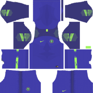 Nigeria World Cup 2018 Goalkeeper Home Kit