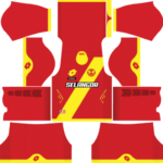 Selangor Dream League Soccer Kits 2017/2018