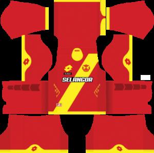 Selangor Dream League Soccer Kits 2017/2018
