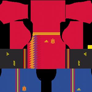 Spain World Cup Kits 2018 Dream League Soccer