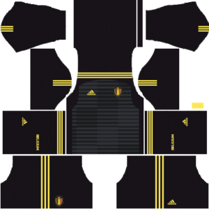 belgium 2018 world cup goalkeeper home kit