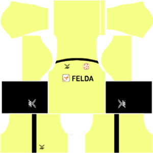 felda united dls goalkeeper away kit 2016-2017