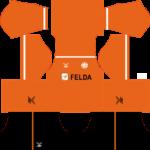 Felda United FC Kits 2016/2017 Dream League Soccer